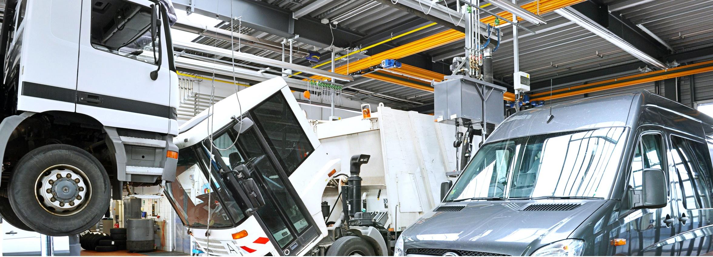 Komplexní servis pro nákladní a osobní automobily